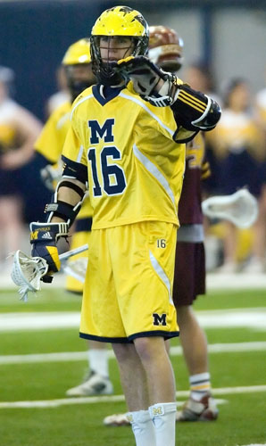 Michigan Lacrosse Star Trevor Yealy