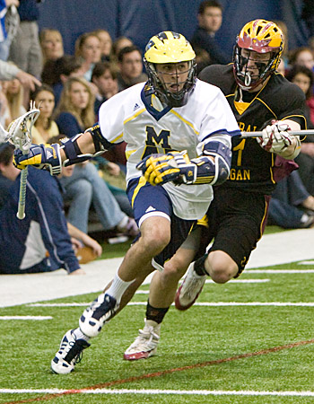 Michigan Lacrosse Josh Ein v. Central Michigan