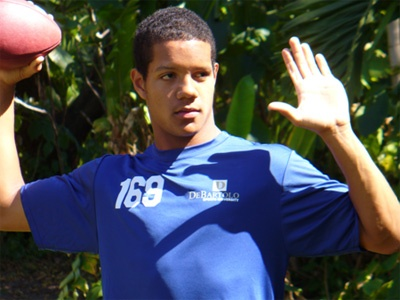 Michigan 2010 QB target Stephen Morris Miami Pace