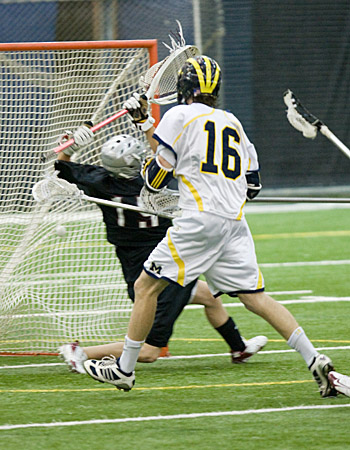 Trevor Yealy Scores Eleven Goals for Michigan Lacrosse