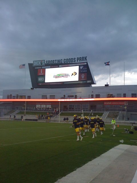 Michigan Lacrosse takes the field against Colorado