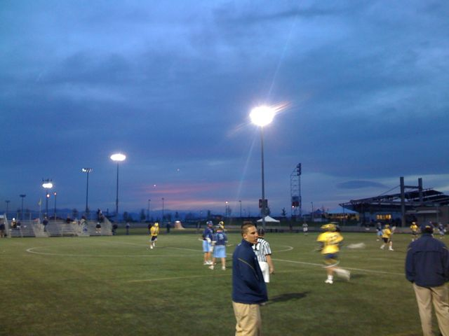 Michigan Lacrosse Sunset