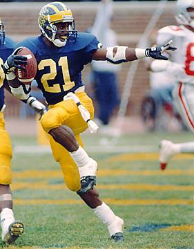 Michigan Heisman Trophy Winner Desmond Howard